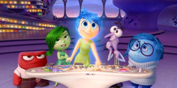 Les 5 émotions du film d'animation de Pixar, Vice Versa