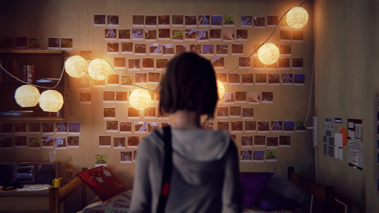 Chambre de Max : mur photo