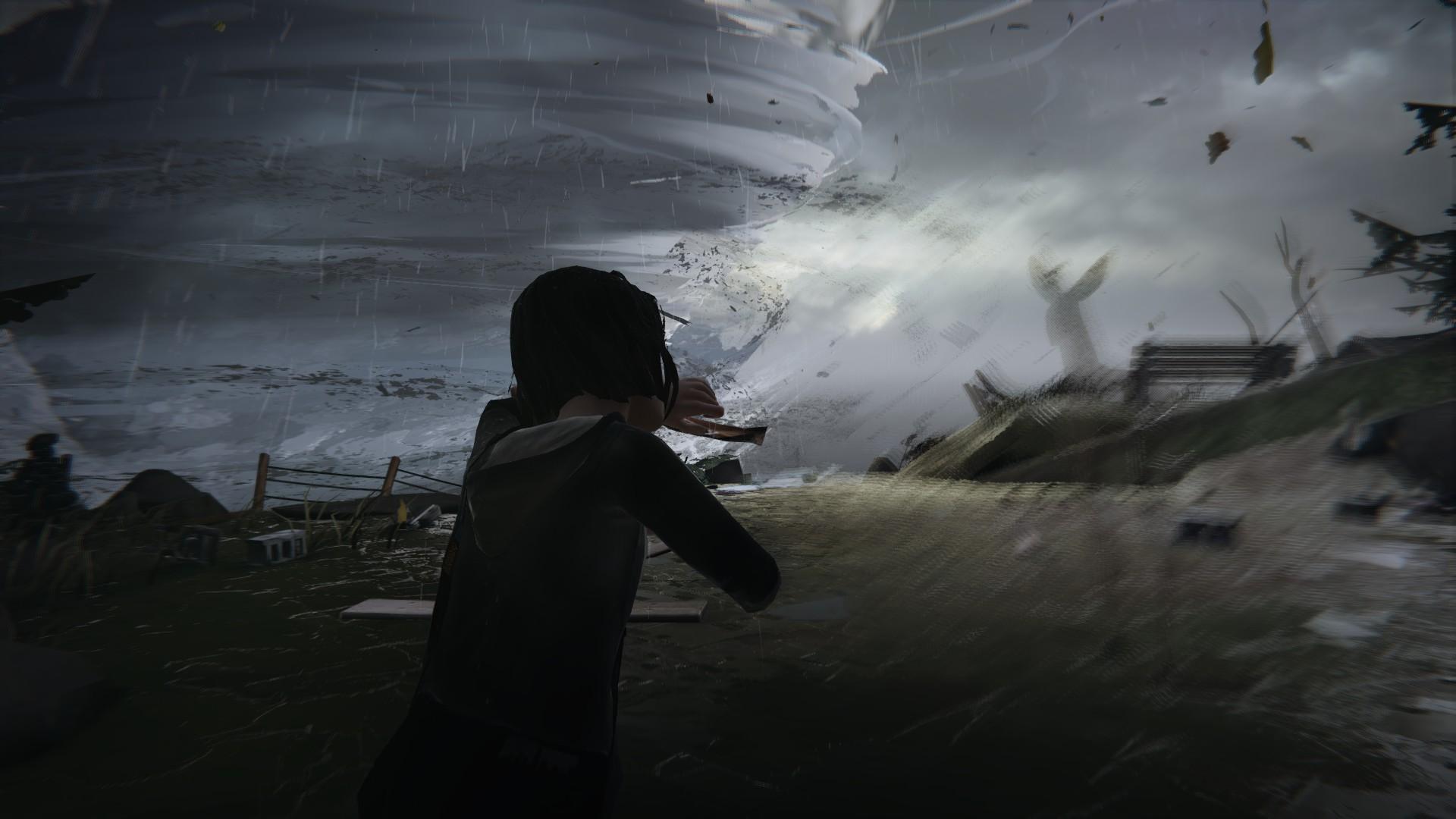 Une tornade géante se prépare sur Arcadia Bay… Il va falloir agir vite.