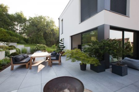 ide amnagement terrasse - Idee Amenagement Maison Neuve